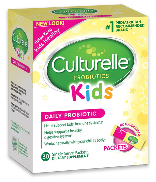 Culturelle, Kids Packets Daily Probiotic Supplement, 30 Pack