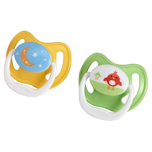 Dr. Brown's PreVent Unique Pacifiers, 12 Months+, Assorted Pattern