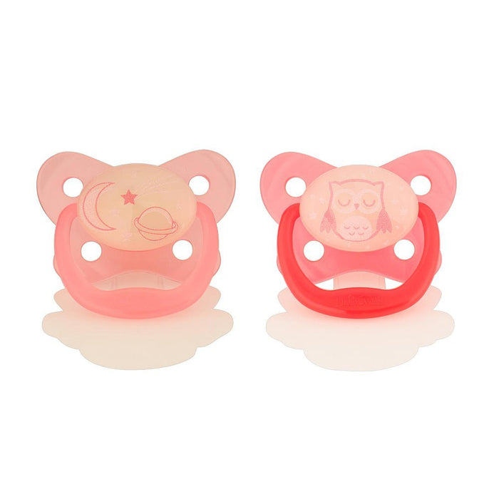 Dr. Brown's 6-12 Months Glow in the Dark Pacifier, 2 Pack