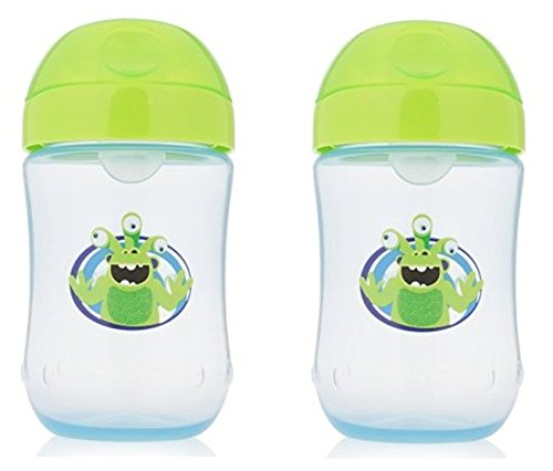 Dr. Brown's 2 Piece Soft-Spout Toddler Cup, 9 Ounce, Assorted Colors