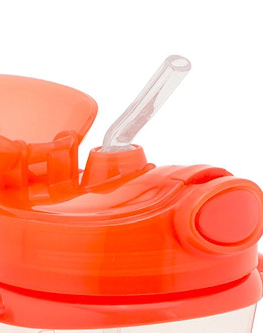 Dr. Brown's Soft Spout Transition Cup, Orange,  6 Months+, 9 Ounce