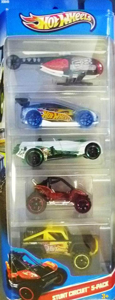 Hot Wheels 5-Pack Cars Assortment (Package May Vary)