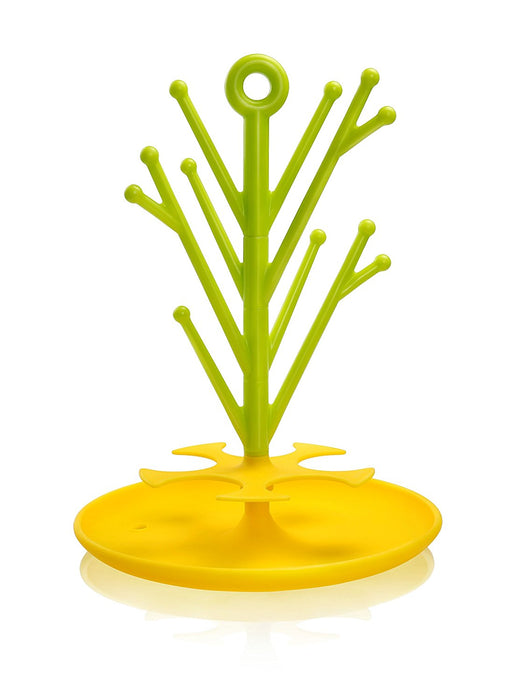 Kidsme Food Feeder Multi-purpose Rack - Lime Yellow