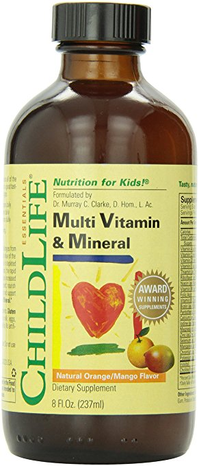 ChildLife Multi Vitamin and Mineral, 8 Ounce