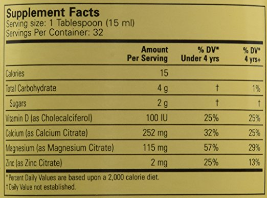 ChildLife Liquid Calcium W. Magnesium, 16 Ounce