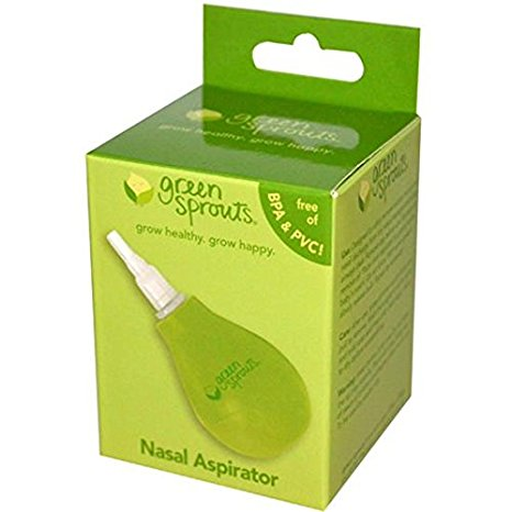 Green Sprouts Nasal Aspirator Relieves Baby's Nasal Congestion