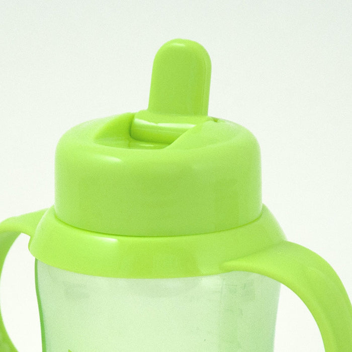 Green Sprouts, Flip Top Sippy Cup, Aqua, 6 Ounce