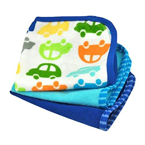 Green Sprouts, Brights Organic Terry Washcloth, 3 Count