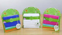 Green Sprouts, Muslin Face Cloths, Organic Cotton, Pink, 5 Count