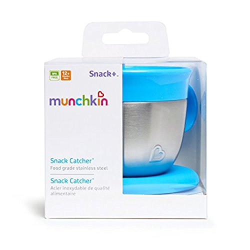 Munchkin Stainless Steel Snack Catcher - Color may vary