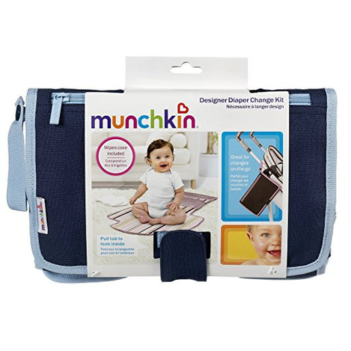 Munchkin Wipes Case Diaper Change Kit 0M+ Color Vary