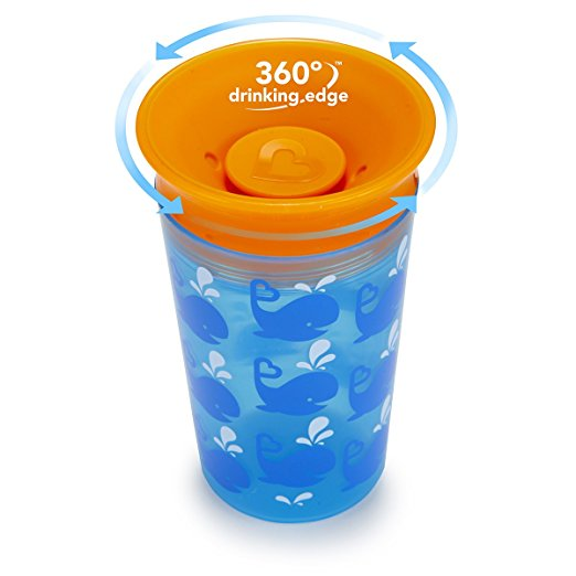 Munchkin Miracle 360 Tasse Sippy Cup 12 Months 9 oz 266 ml