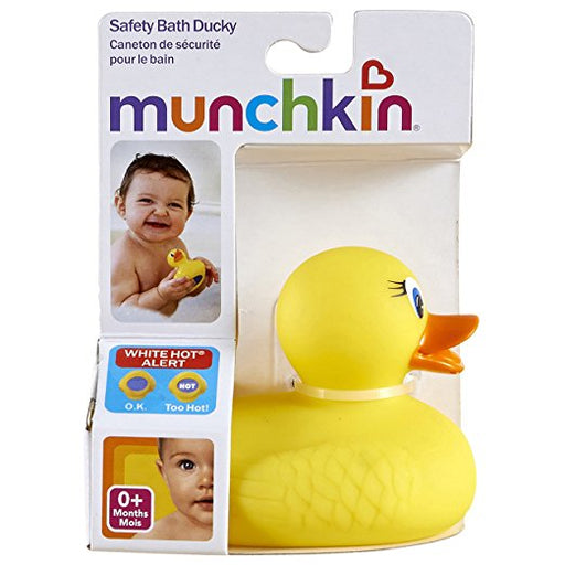 Munchkin White Hot Safety Bath Ducky