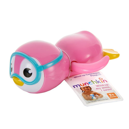 Munchkin Wind-Up Swimming Penguin 9M+ Color Vary
