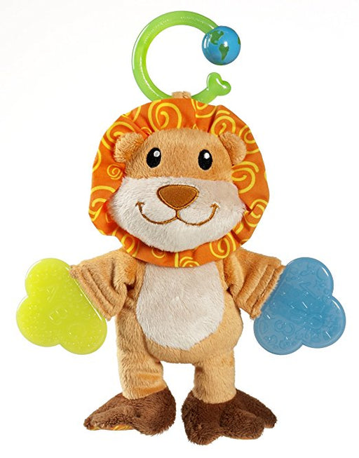 Munchkin Multi Texture Teether Lion/Monkey/Elephant Vary 1 Count