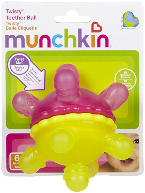 Munchkin Twisty Teether Ball Toy 6M+