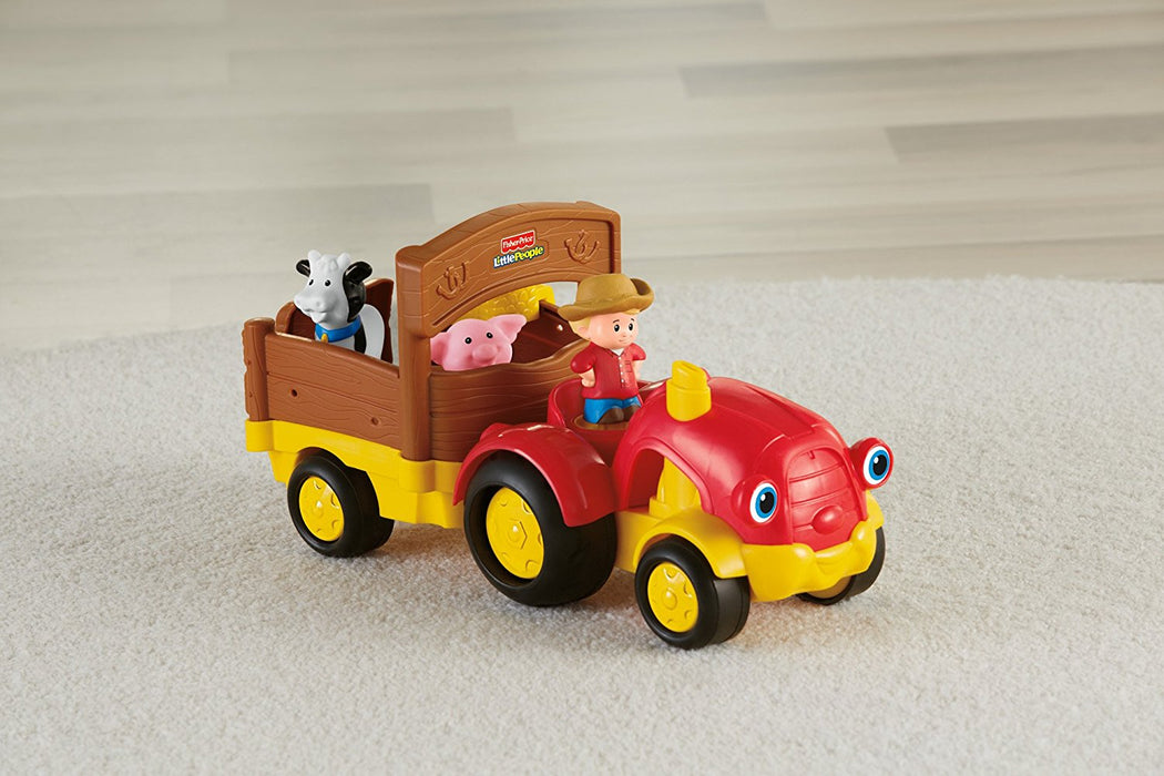 Fisher Price, Little People Tow 'n Pull Tractor