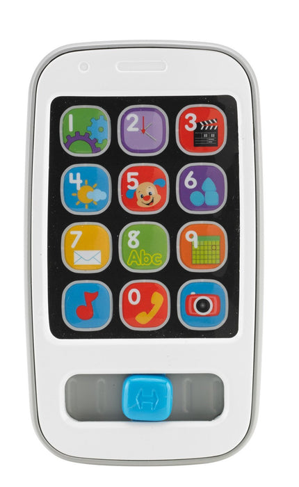 Fisher Price, Laugh & Learn Smart Phone, Grey