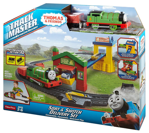 Fisher Price, Thomas & Friends TrackMaster Sort & Switch Delivery Set