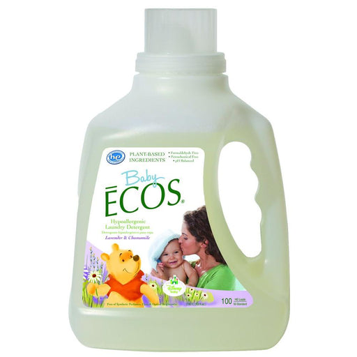 Ecos Baby Laundry Detergent, Lavender Cham, 100 Ounce