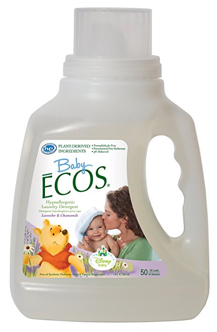 Ecos Baby Laundry Detergent, Lavender Cham, 50 Ounce