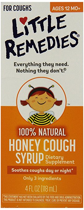 Little Remedies Honey Cough Syrup 4oz