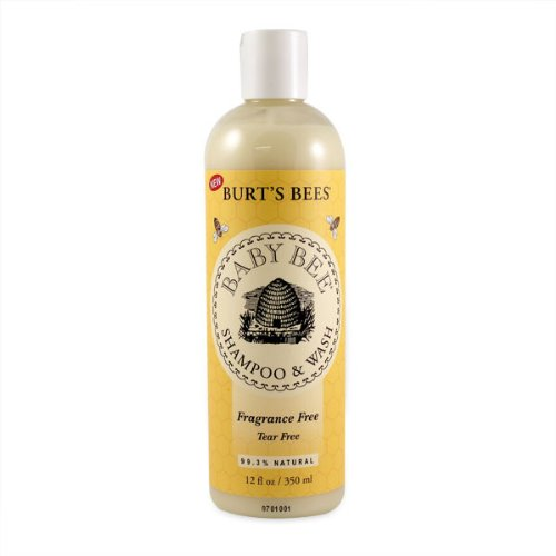 Burt's Bees Baby Shampoo & Wash, Fragrance Free, 8 Ounces