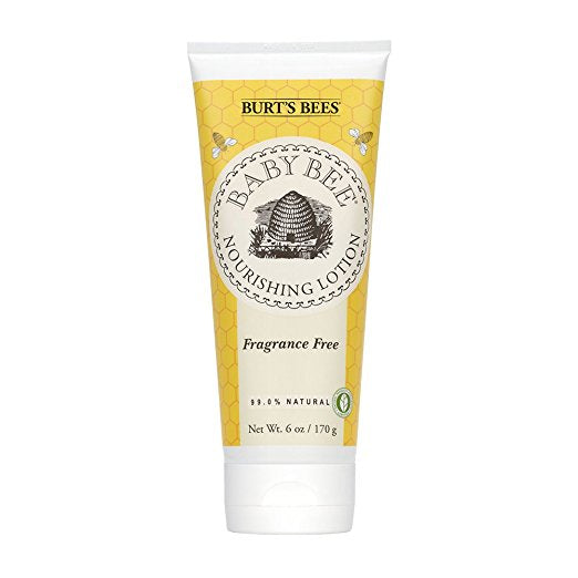 Burt's Bees Baby Nourishing Lotion, Fragrance Free, 6 Ounces