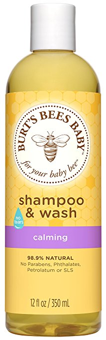 Burt's Bees Baby Shampoo & Wash, Calming, 12 Ounces
