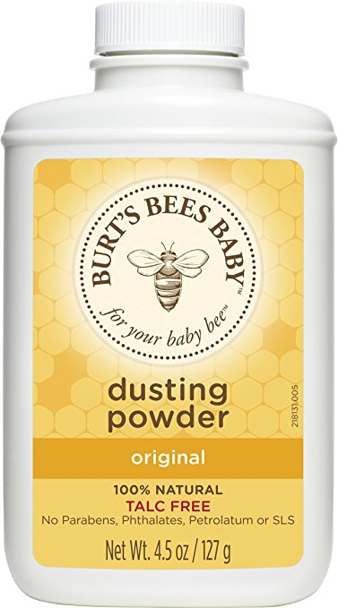 Burt's Bees Baby 100% Natural Dusting Powder, 4.5 Ounces