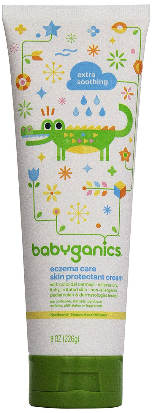Babyganics Eczema Care Skin Protectant Cream, 8 Ounce