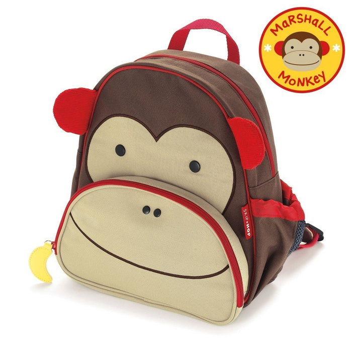 Skip Hop Zoo Toddler Kids School Backpack Monkey