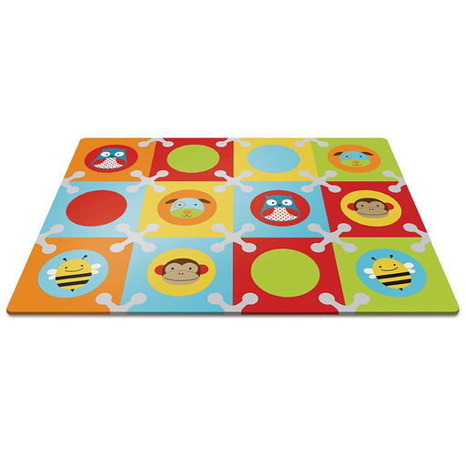 Skip Hop Baby Infant and Toddler Zoo Playmat with Interlocking Foam Floor Tiles