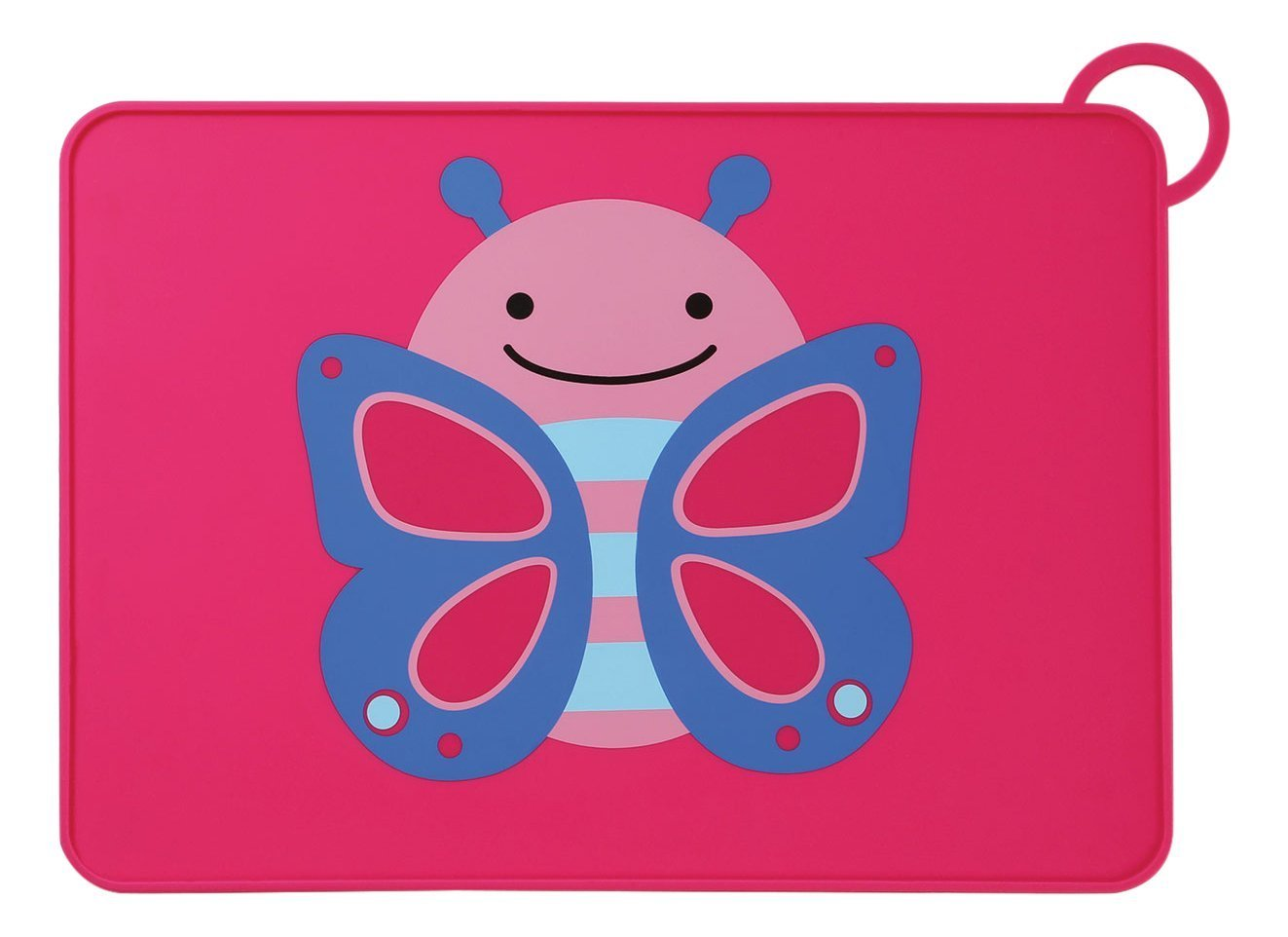 Skip Hop Zoo Fold & Go Silicone Kids Placemat Butterfly