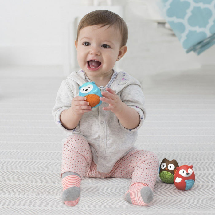 Skip Hop Explore & More Egg Shaker Baby Toy Trio