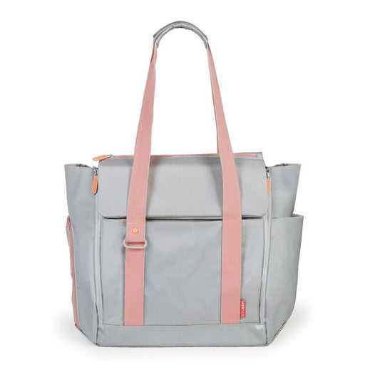 Skip Hop All Access Diaper Bag Platinum / Coral