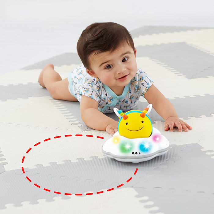 Skip Hop Explore & More Follow-Me Bee Crawl Toy, Yellow