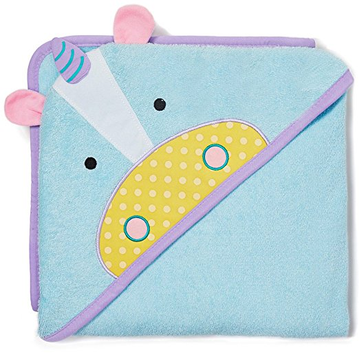 Skip Hop Zoo Infant & Toddler Hooded Towel Towel Unicorn