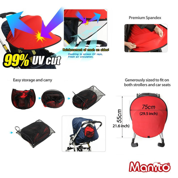 Manito Magic Shade Red / Black