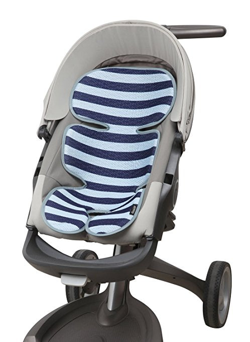Manito Clean Basic Cool Seat Pad Stripe Navy