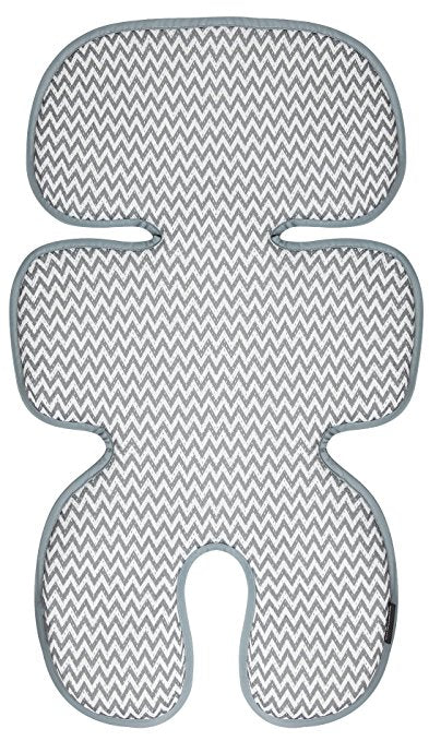 Manito Clean Basic Cool Seat Pad Zigzag Grey