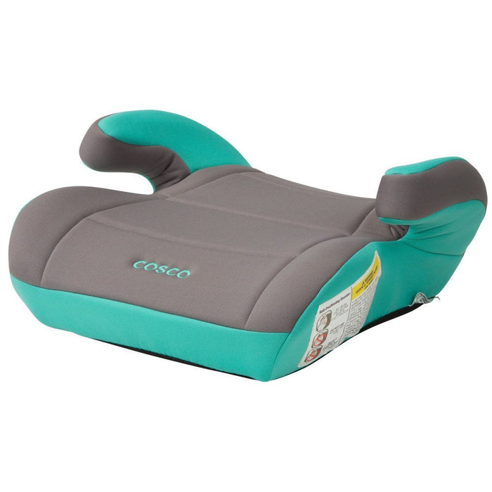 Cosco Topside Booster Car Seat Easy to Move, Lightweight Design Mineral