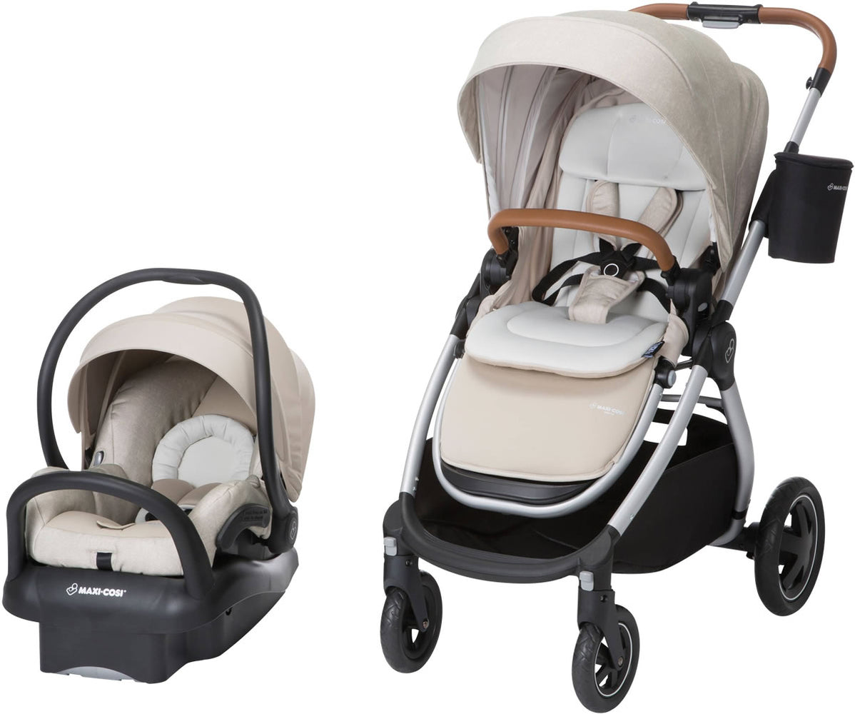 Maxi Cosi Adorra Travel System Stroller & Infant Car Seat - Nomad Sand