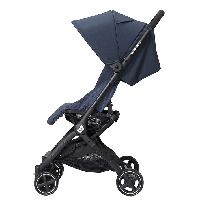 Maxi-COSI Lara Ultra Compact Stroller, 14 lb, One Hand Fold & Unfold, Nomad Blue