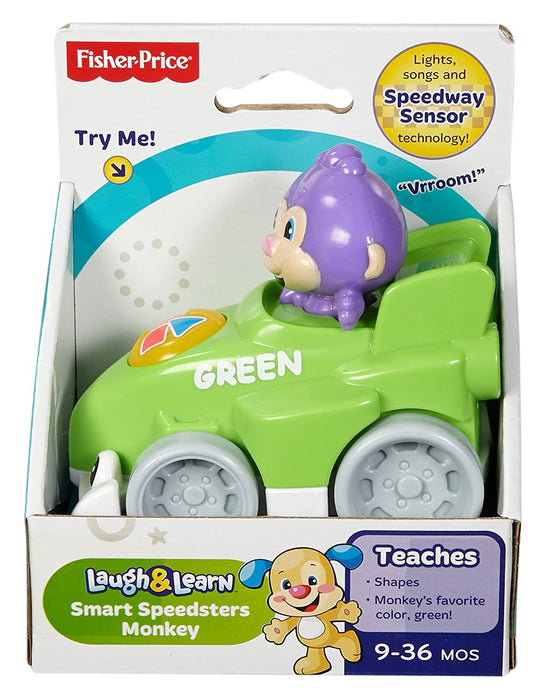 Fisher Price, Laugh & Learn Smart Speedsters, Monkey