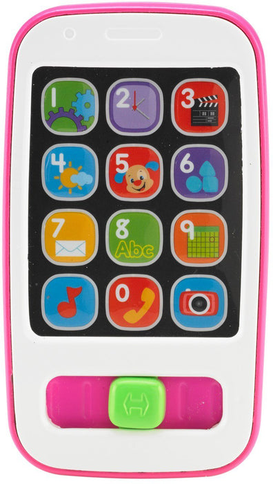 Fisher Price, Laugh & Learn Smart Phone, Pink