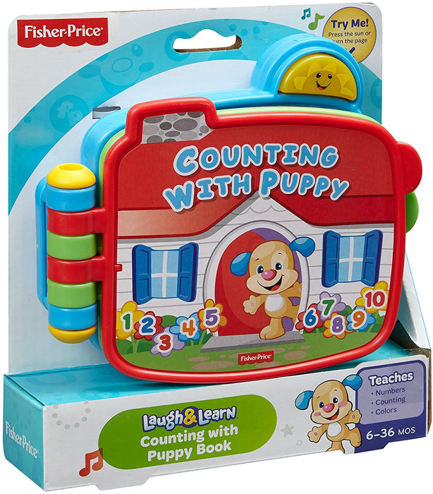 Fisher Price, Laugh & Learn Counting with Puppy Book