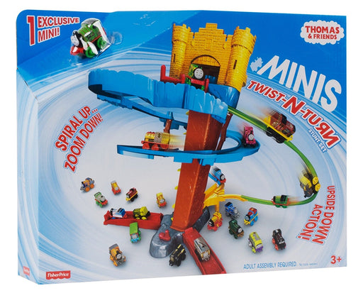 Fisher Price, Thomas & Friends MINIS Twist-n-Turn Stunt Train Playset