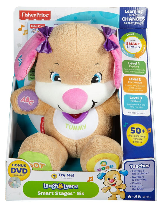 Fisher Price, Laugh & Learn Smart Stages Sis (with Bonus DVD)