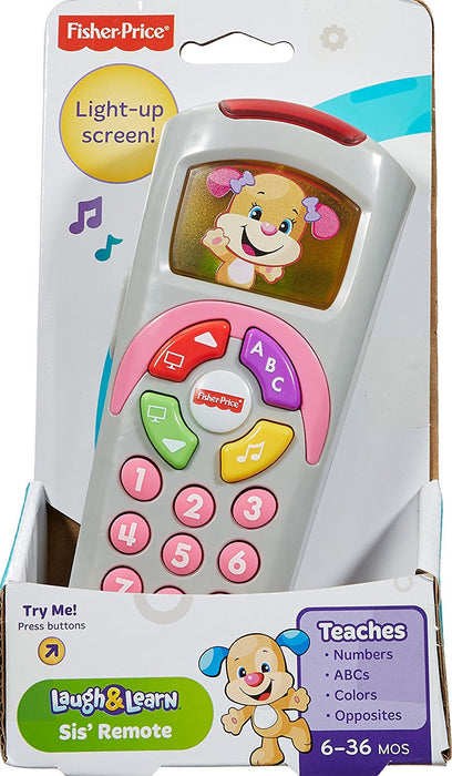 Fisher Price, Laugh & Learn Sis' Remote